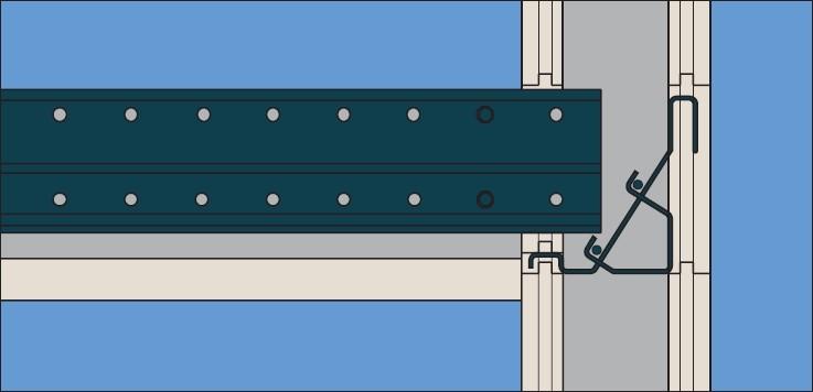 Aansluiting verdiepingsvloer 3