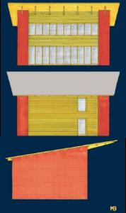 Aanzichten design M. Bruer