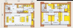 Begane grond en eerste verdieping