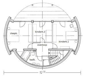 eerste verdieping winnend ontwerp
