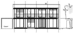 gebouw ontwerp nr. 1187