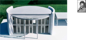 model winnend ontwerp van walter binder
