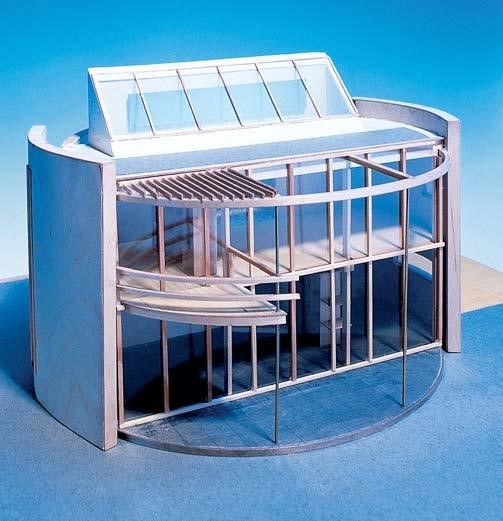 modelfoto ronde huis
